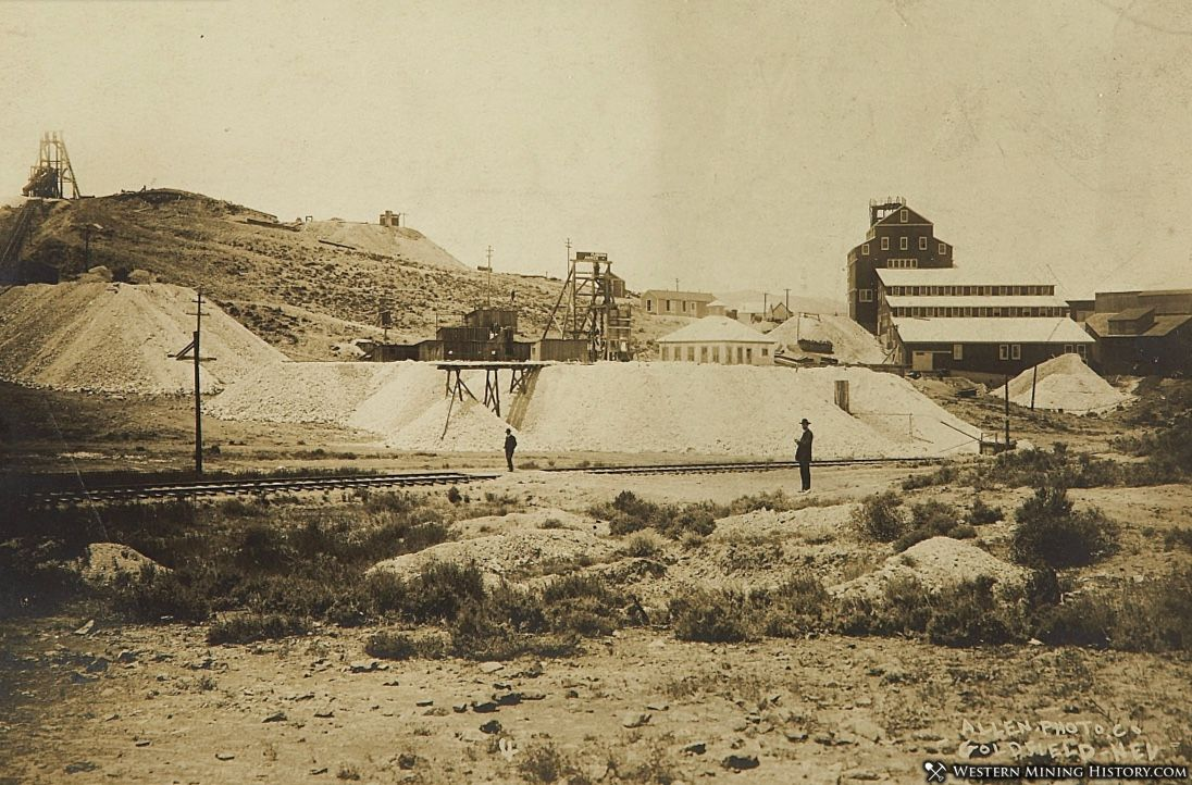 Combination Mine - Goldfield Nevada ca. 1907