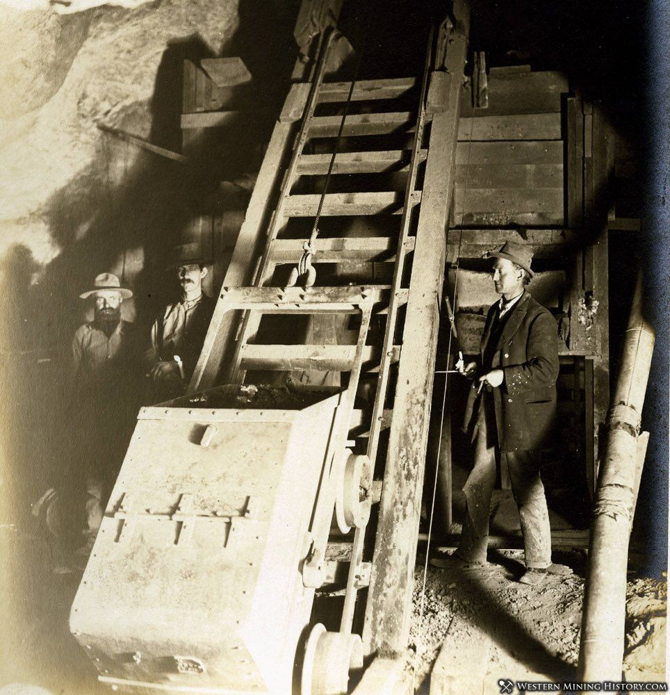 Miners in the Keystone Mine - Goodsprings Nevada 1910