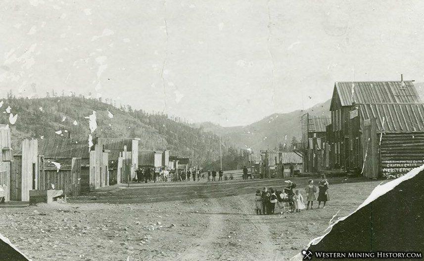 Guffey Colorado in 1897