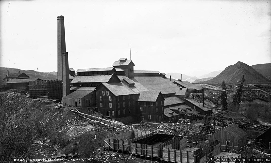 Holden Lixiavation Works - Aspen Colorado ca. 1891
