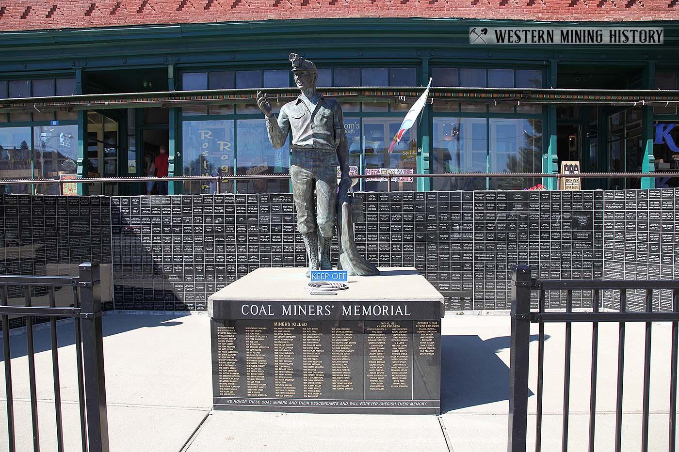 Miners Memorial - Roslyn