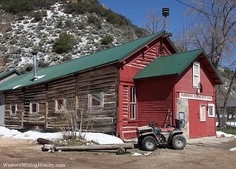 Historical building at Jarbidge Nevada