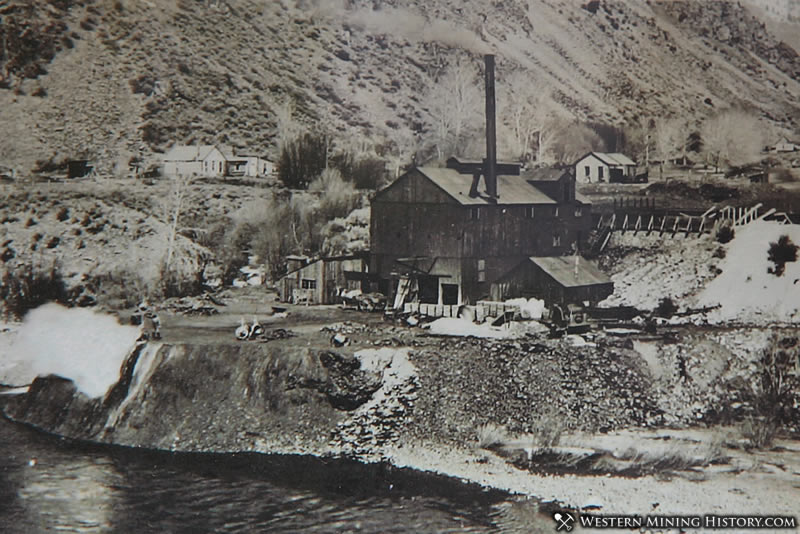 Historical Image of the Clayton Smelter