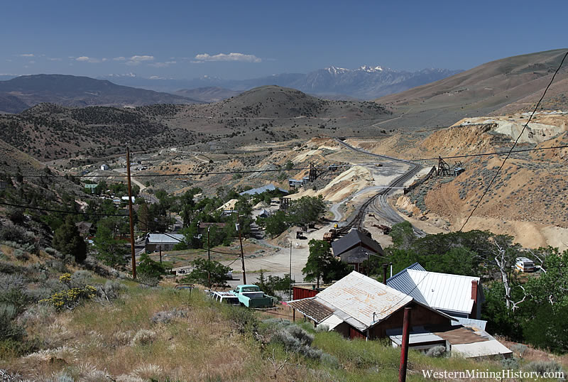 Modern View of Gold Hill Nevada
