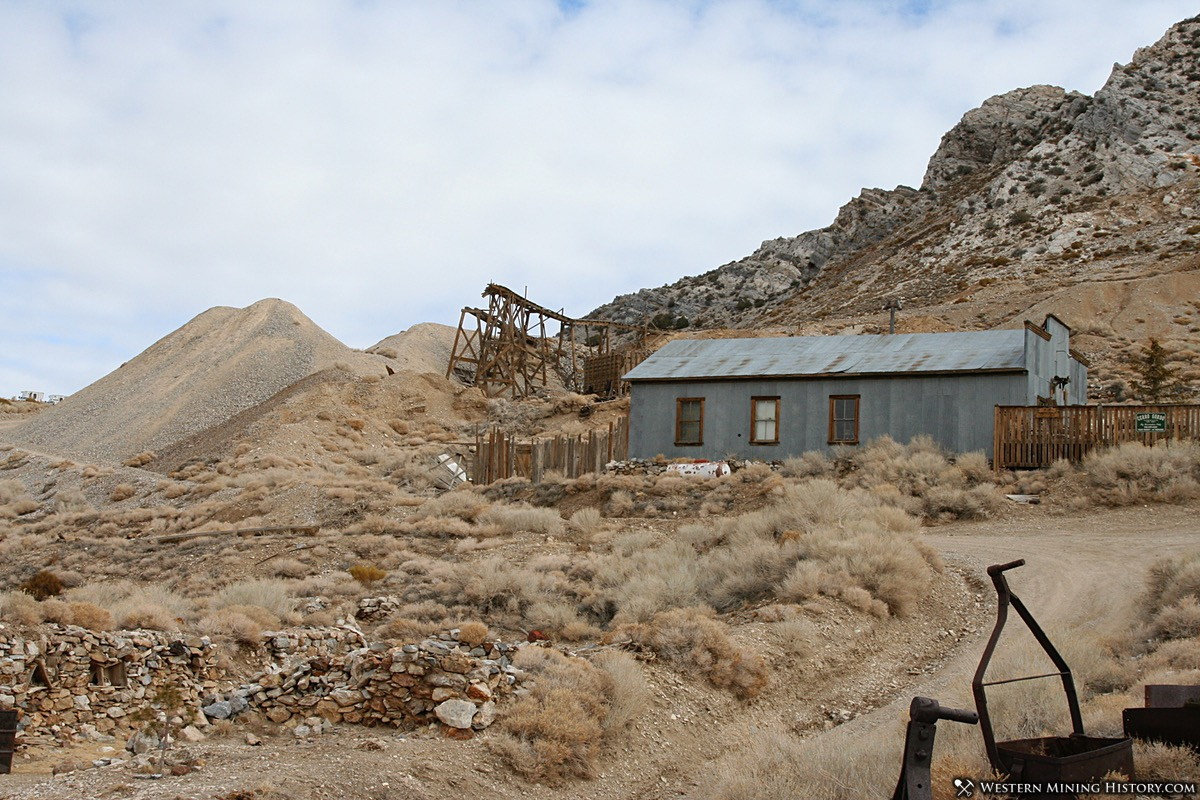 Historic Mines at Cerro Gordo