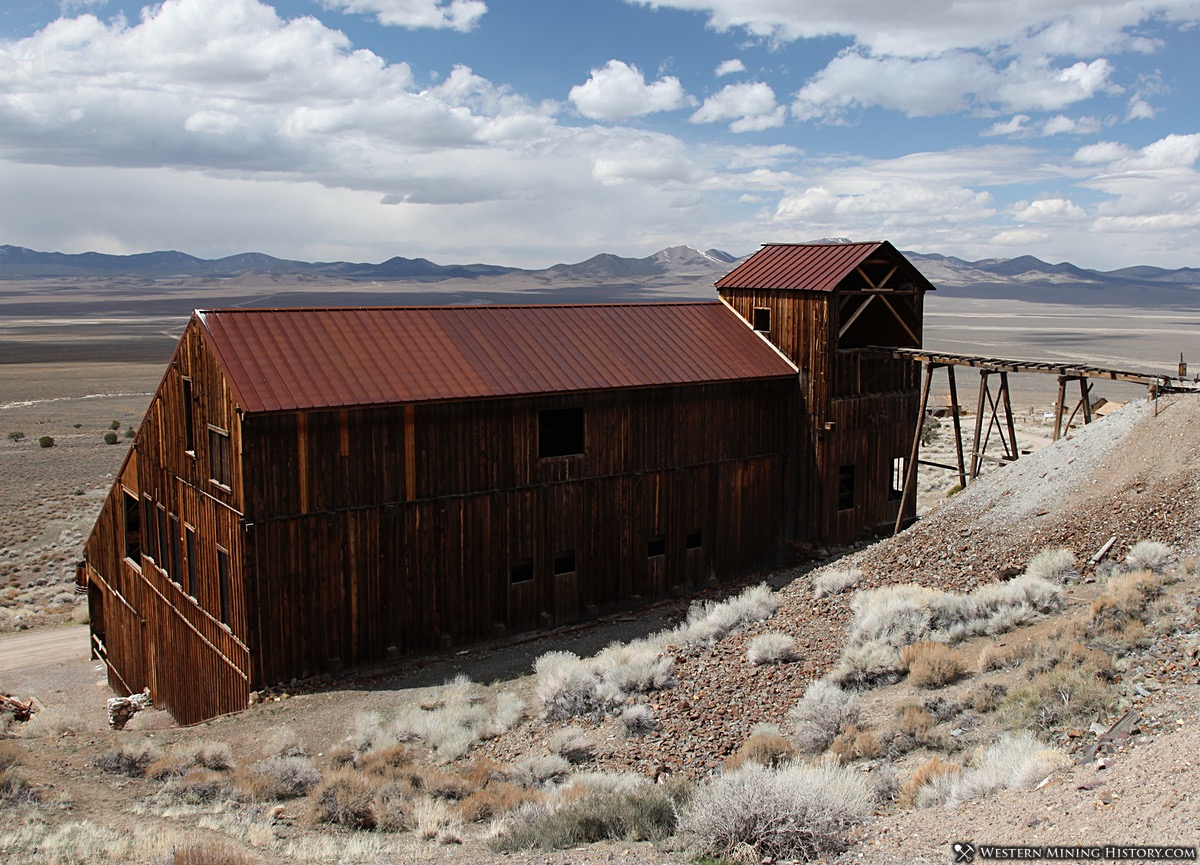 Stamp Mill at Berlin, Nevada