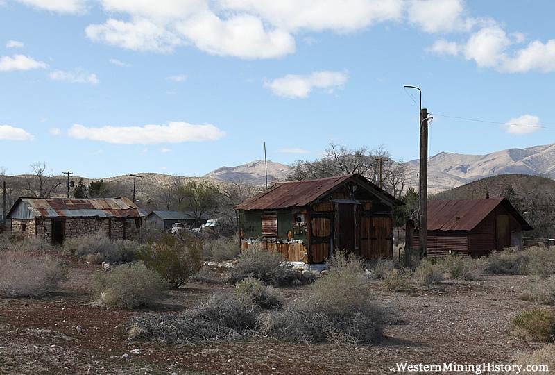 Old Cabins Goodsprings