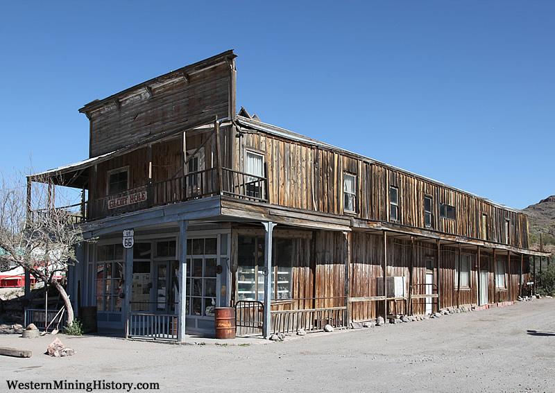 Historical building at Oatman Arizona