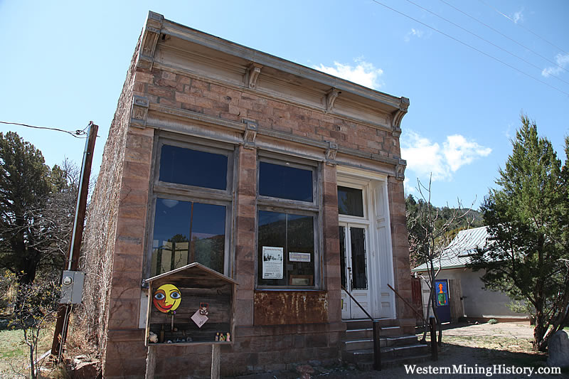 Historic Percha Bank - Kingston, New Mexico