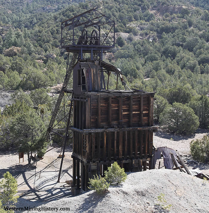Kelly Mine Headframe