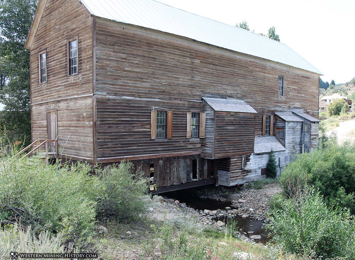 Building Spanning Creek - Silver City