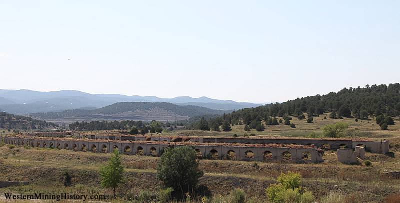 Coke ovens at Cokedale Colorado