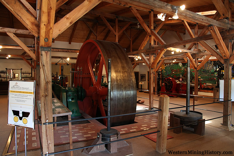 Corliss Steam Engine - Western Museum Of Mining & Industry
