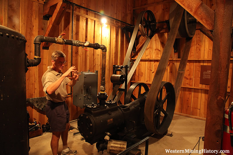 Air Compressor - Western Museum Of Mining & Industry
