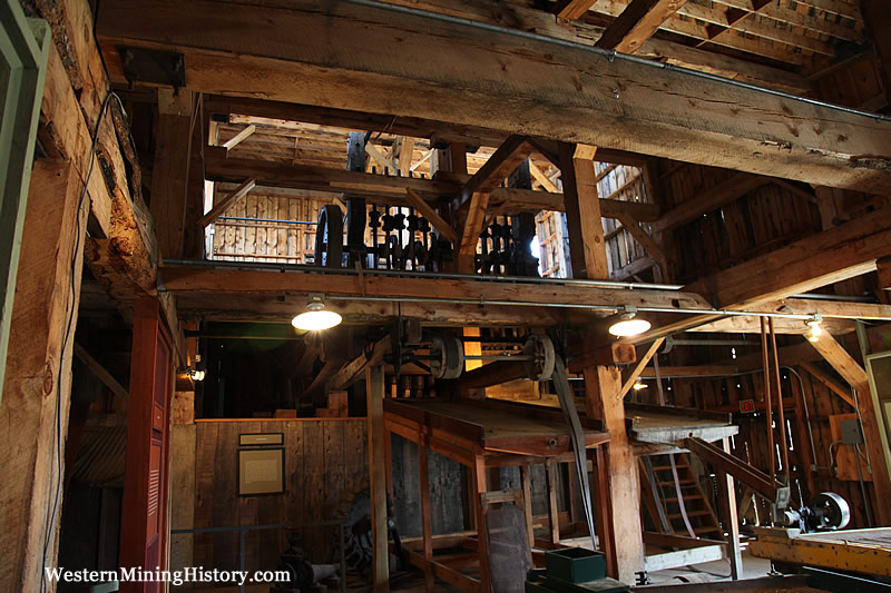 Stamp mill interior - Western Museum Of Mining & Industry