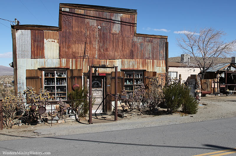 Mining Era Building in Randsburg, California