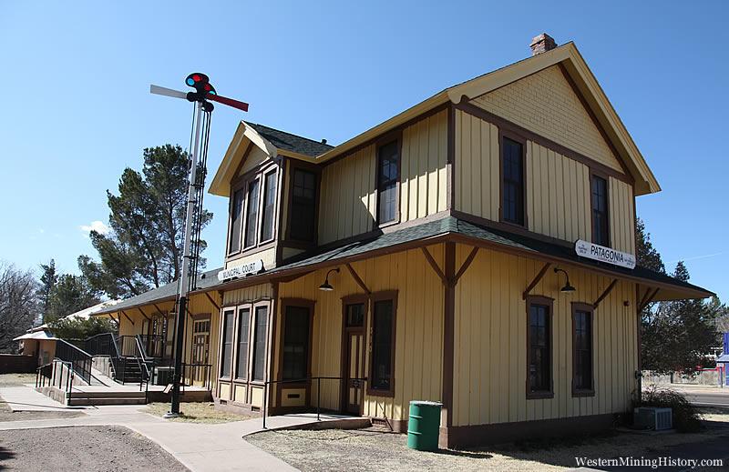 Railroad Depot - Patagonia