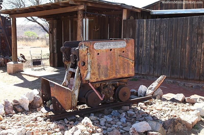 Antique ore car at Pearce Arizona