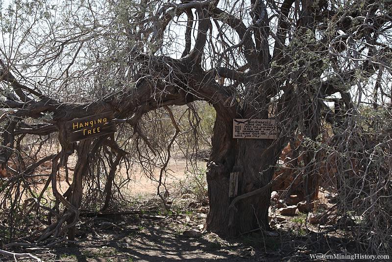 Hanging Tree at Vulture City Arizona