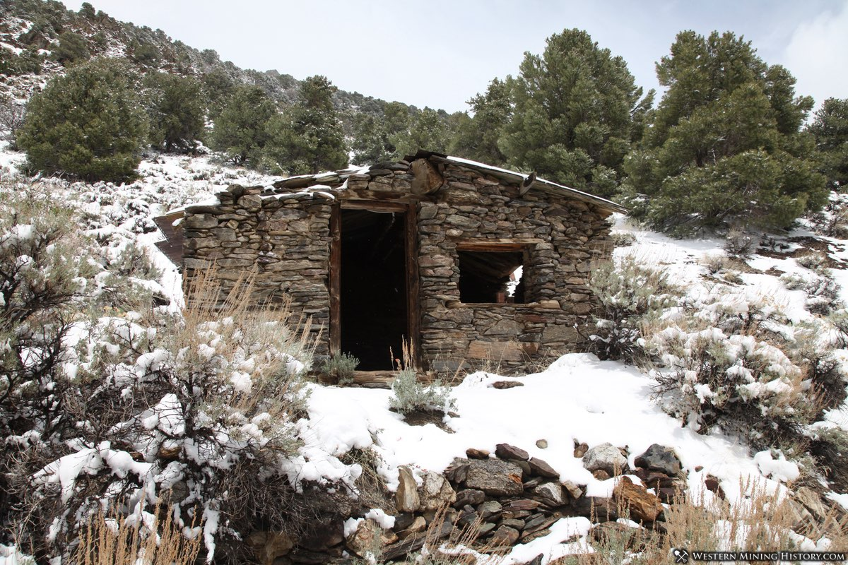 Miner's Cabin at Ophir, Nevada