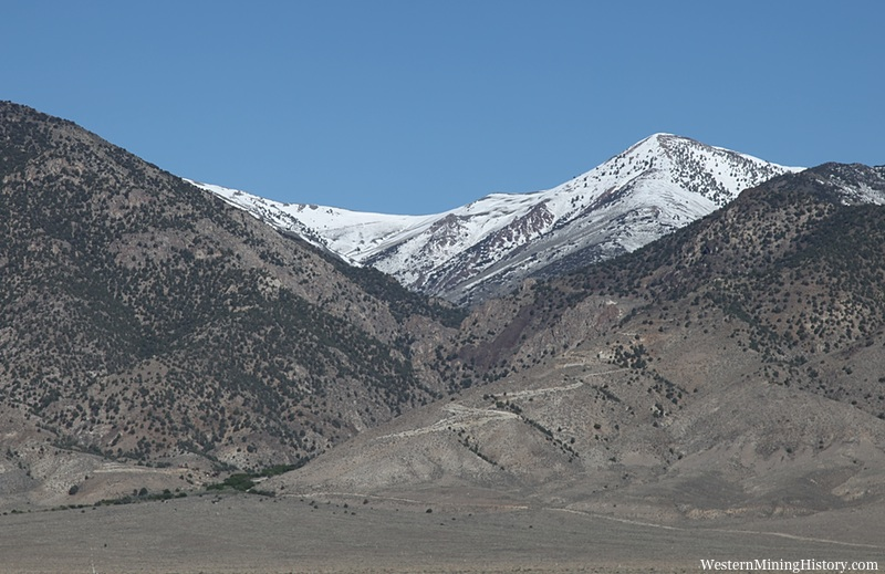 View of Ophir Canyon from the valley below
