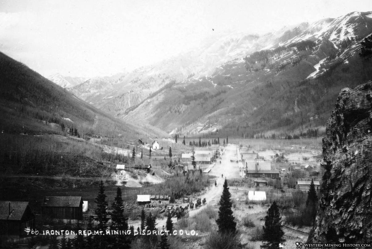 Early view of Ironton, Colorado