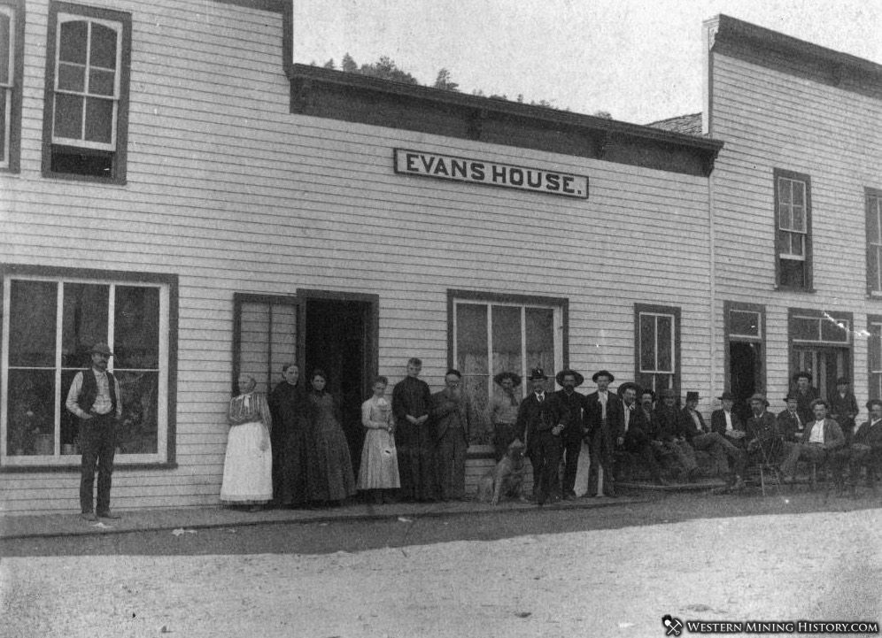 Evans House - Jamestown, Colorado ca 1890s