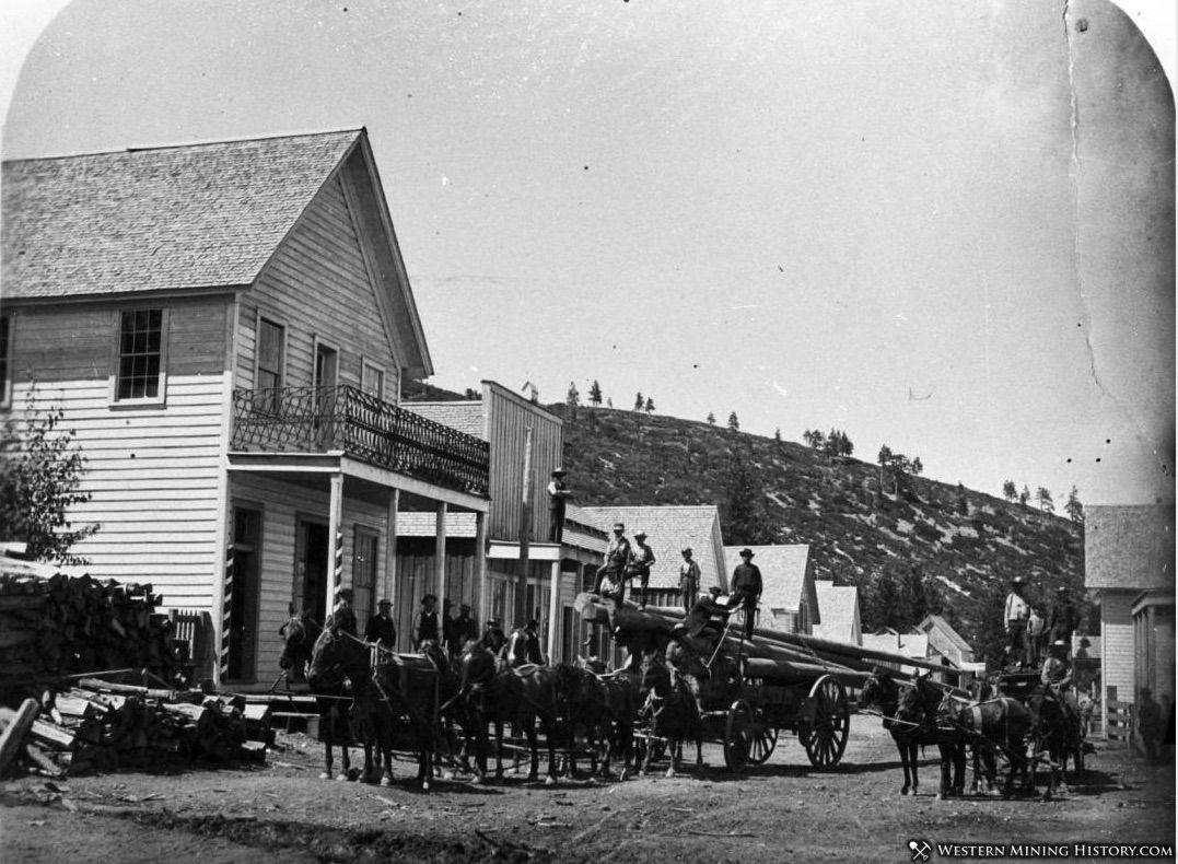 Johnsville, California ca1890