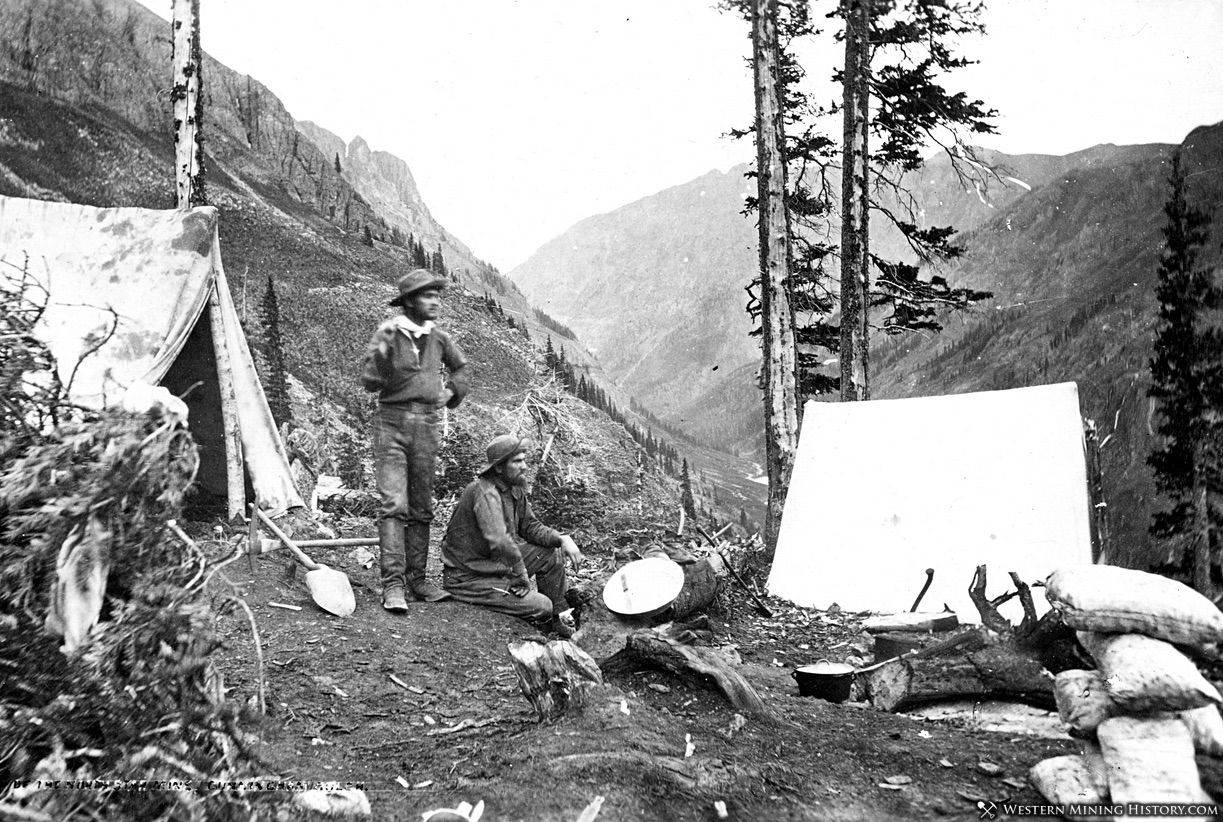 Miners of the North Star and Mountaineer lodes - Colorado 1875