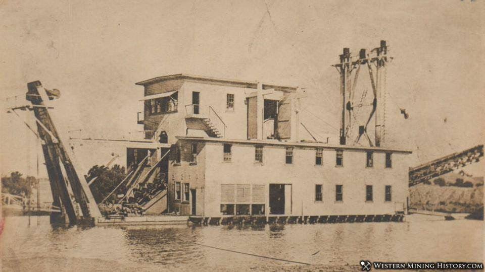 La Grange dredge 1913