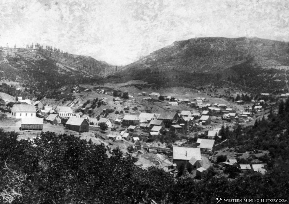 View of La Porte California in 1891