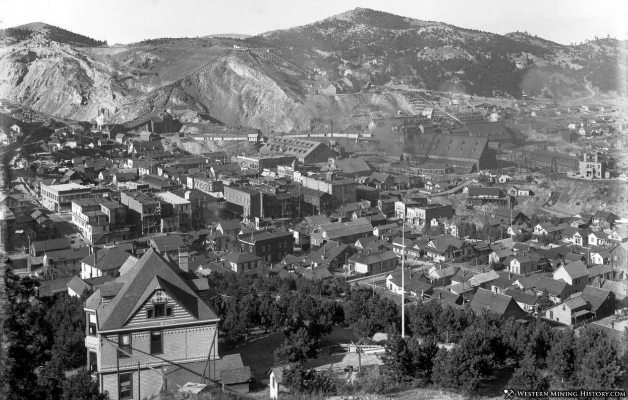View of Lead South Dakota ca. 1900
