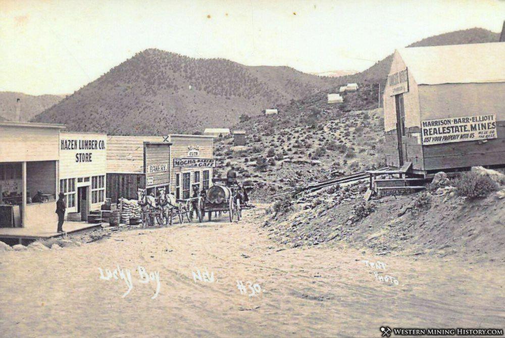 Lucky Boy, Nevada ca. 1910