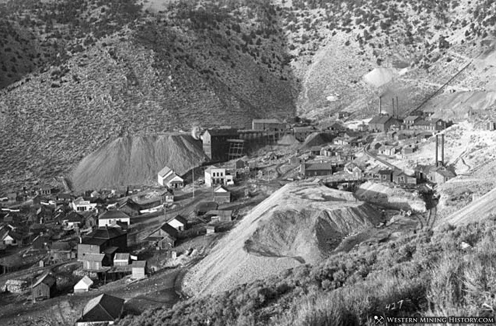 Mammoth, Utah and the Mammoth Mine ca. 1905