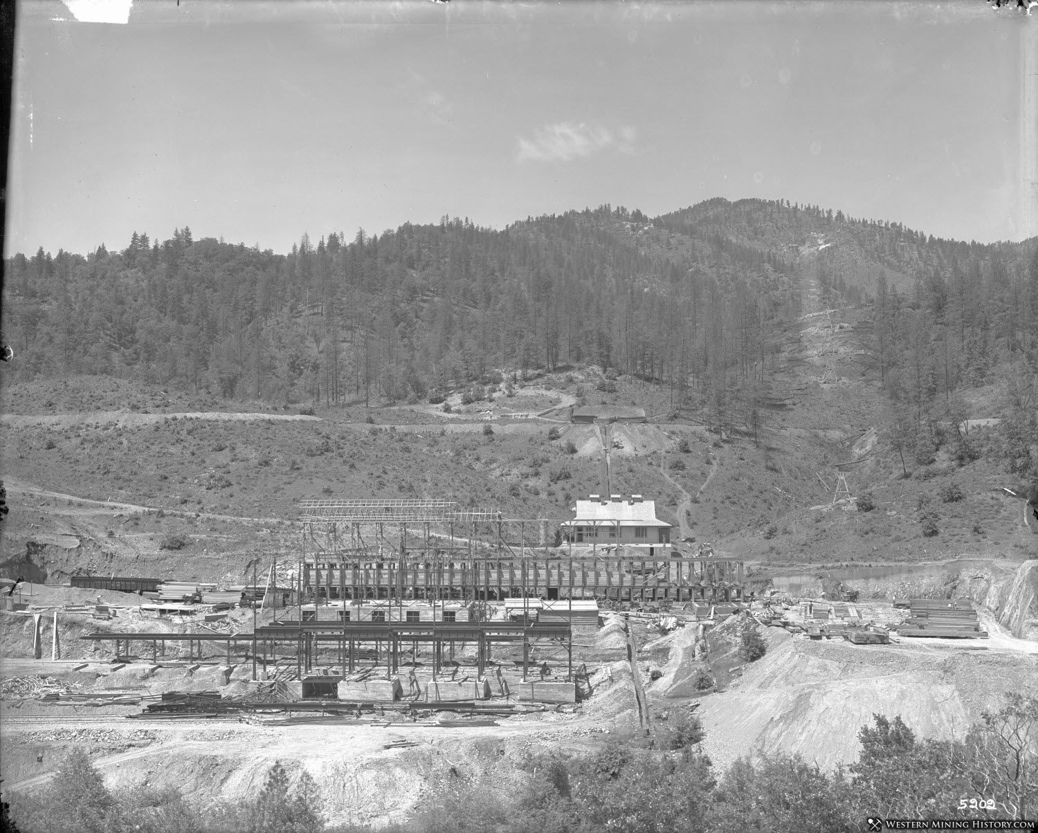 Mammoth Smelter Construction