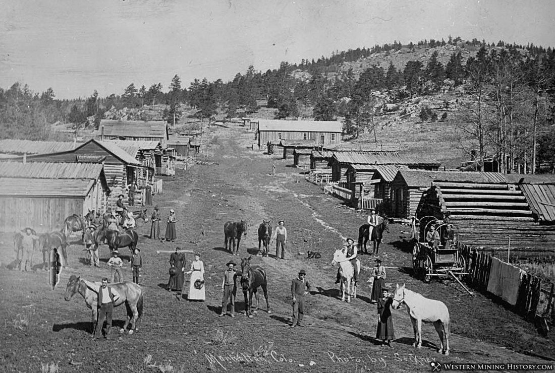 Manhattan, Colorado 1888