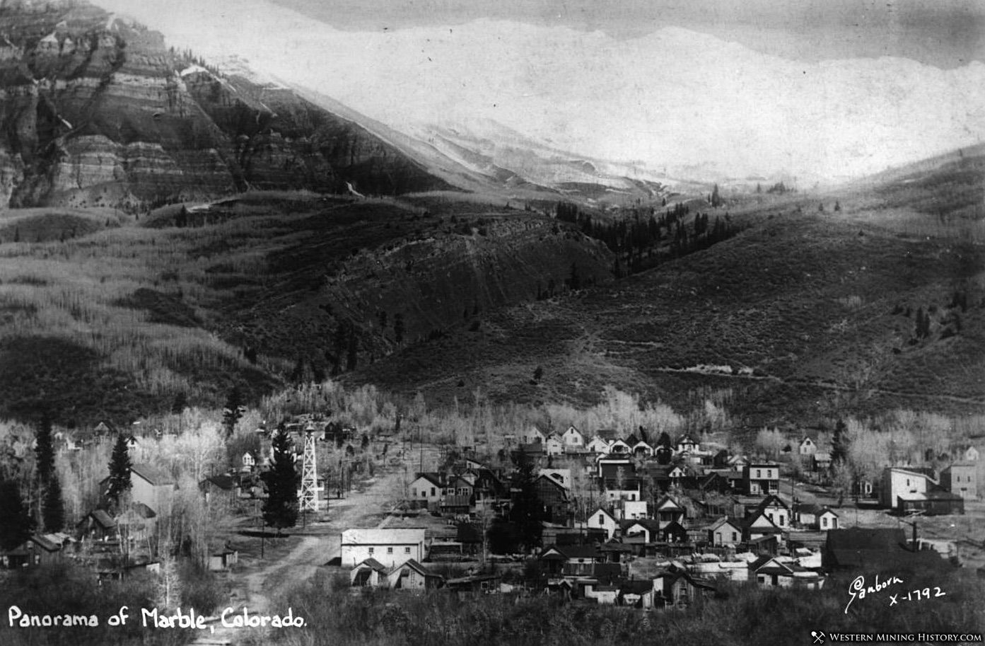 Featured Mining Town: Marble, Colorado