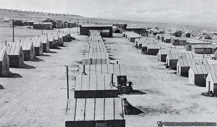 Greek tent camp at McGill Nevada 1908