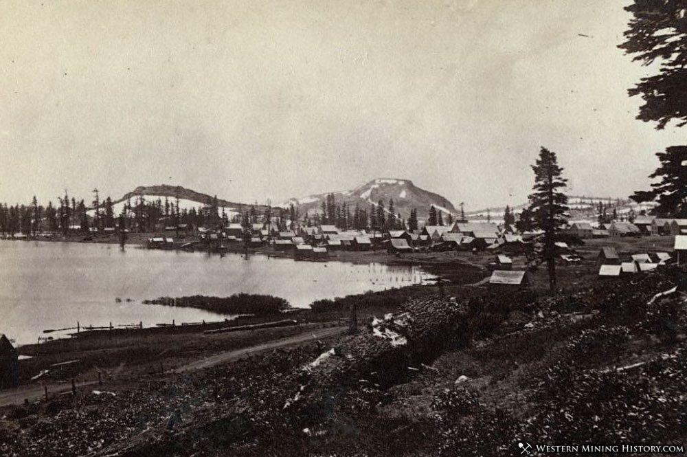 Meadow Lake, California ca. 1868