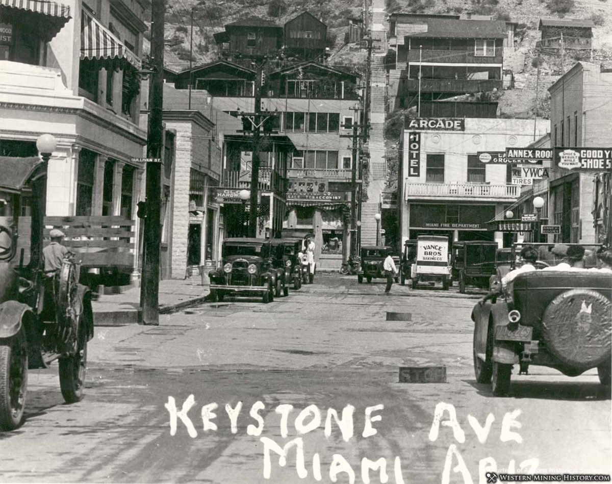 Miami, Arizona 1920s