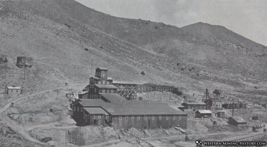 Mill at Lower Rochester, Nevada