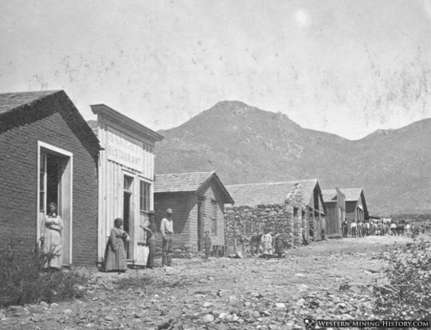Mineral Park, Arizona 1880