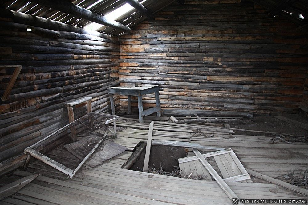 Cabin Interior at Miner's Delight