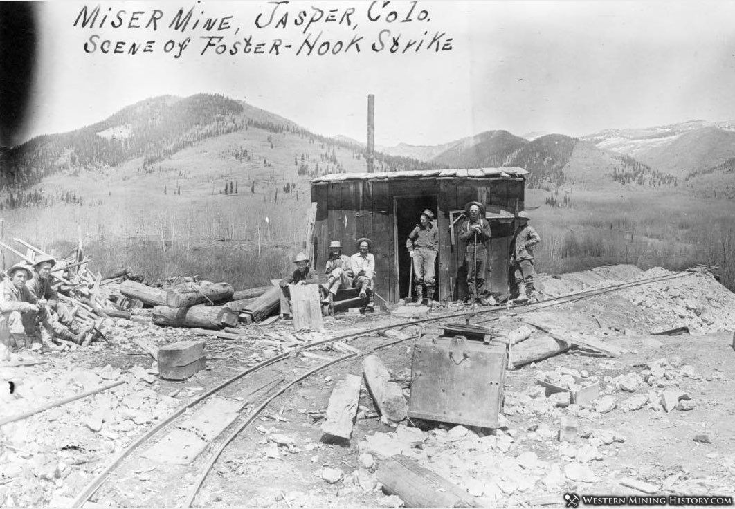 Miser Mine near Jasper, Colorado