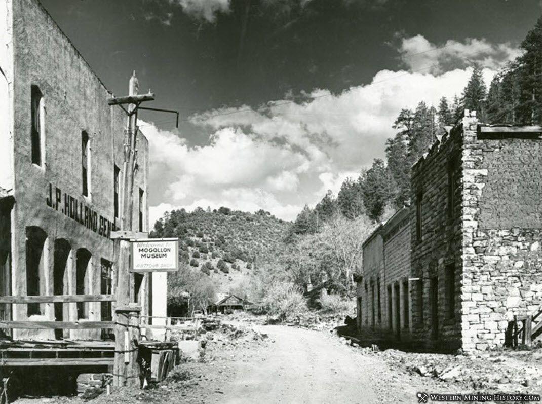 Mogollon New Mexico 1958
