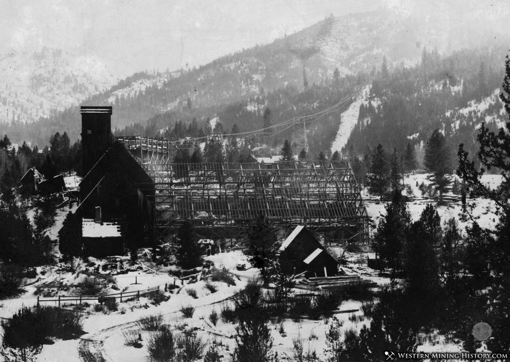 Monarch Mill under Construction