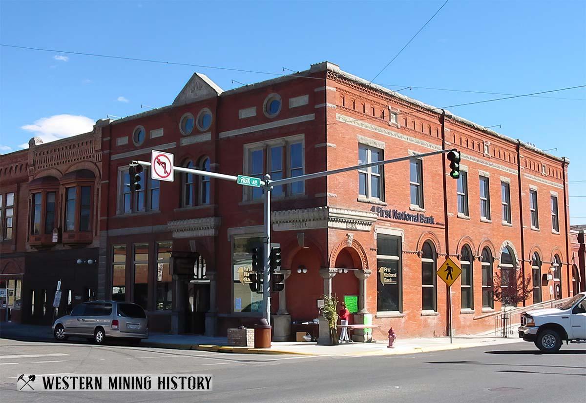 Historical Buildings at Anaconda Montana