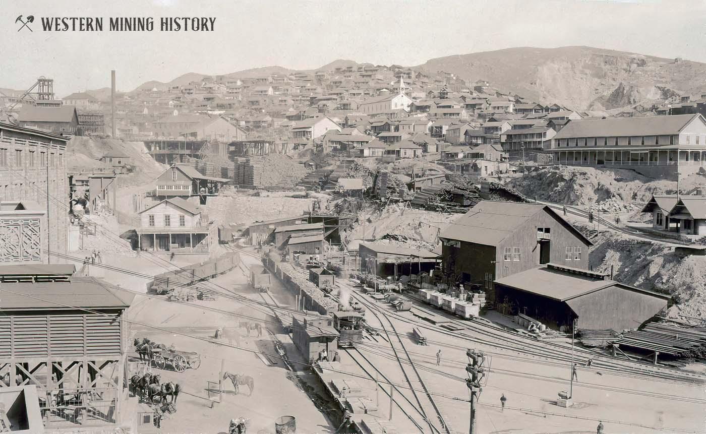 Morenci Arizona ca. 1900