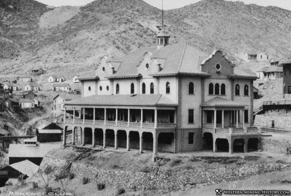 The Morenci Club in 1904