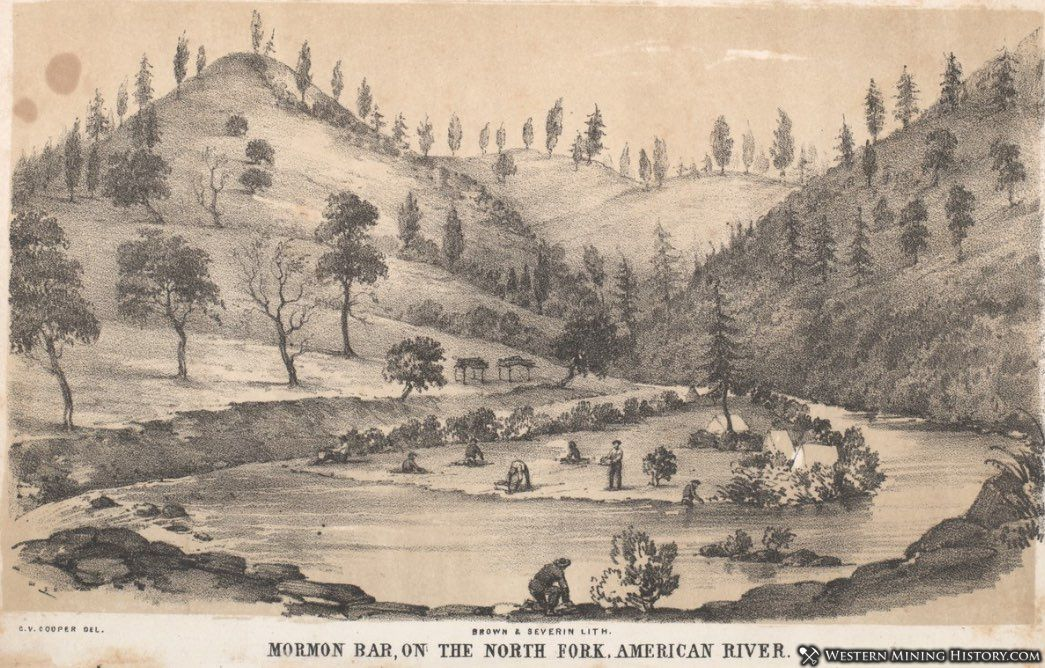 Illustration of Early Mormon Bar